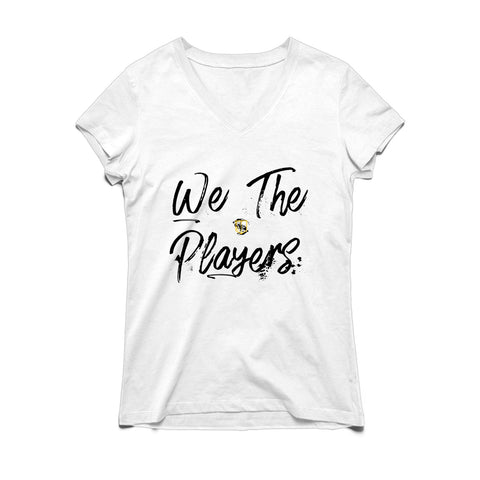 PLL We The Players Script V-neck Tee - Women's