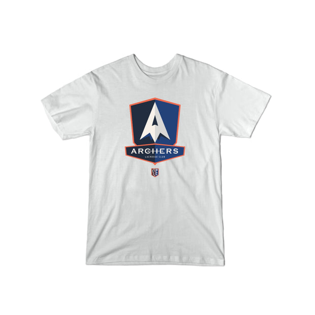PLL Archers Lacrosse Club Team Logo Tee - Men's