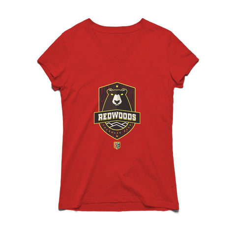 PLL Redwoods Lacrosse Club V-neck Tee - Women's