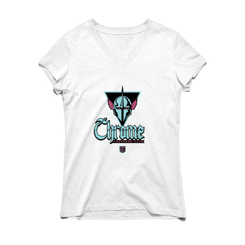 PLL Chrome Lacrosse Club V-neck Tee - Women's