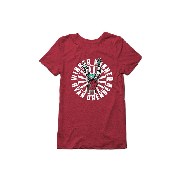 PLL Winner Winner Ryan Drenner Triblend T-Shirt - Women's