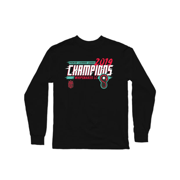 PLL Whipsnakes LC Inaugural Champions Longsleeve Shirt