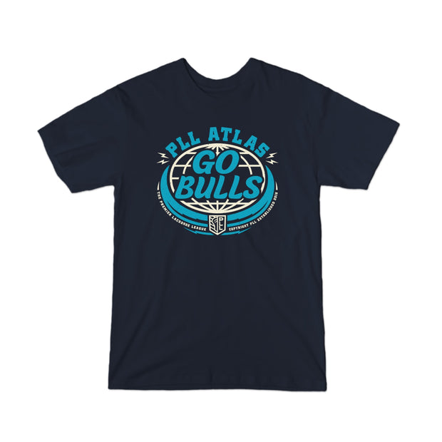 PLL Atlas Go Bulls Logo Tee - Youth