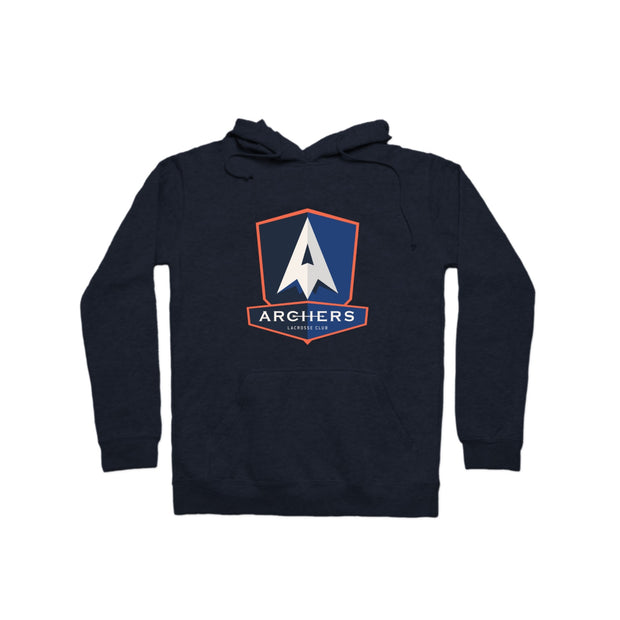 Archers Lacrosse Club Fleece Pullover Hoodie