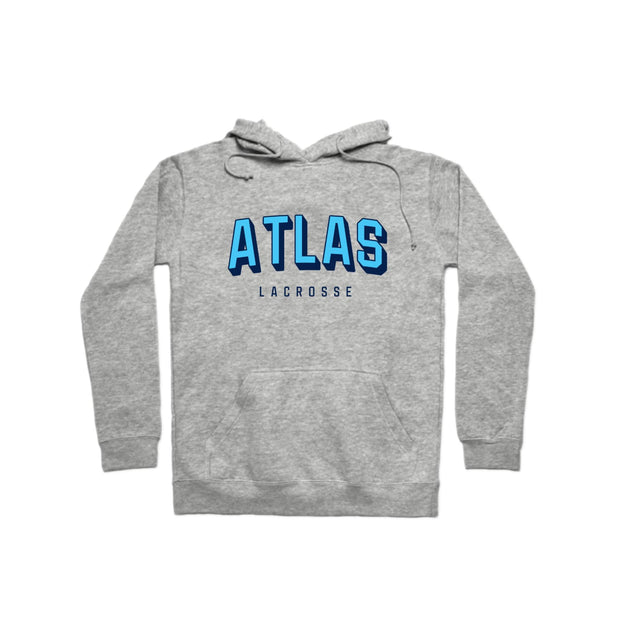 PLL Atlas Stacked  Pullover Hoodie - Men's