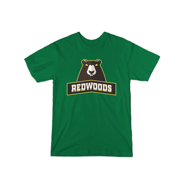 Redwoods Gurenlian #32 Beast Name and Number Tee - Men's