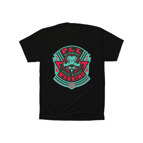 PLL Whipsnakes Strike Without Warning Logo Tee - Men's