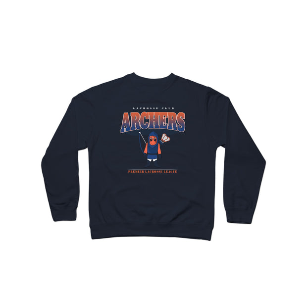 PLL Backyard Lacrosse Archers Crewneck Sweatshirt - Men's