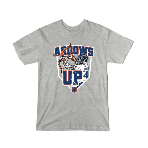 PLL Archers Arrows Up Will Manny #4 T-Shirt - Youth