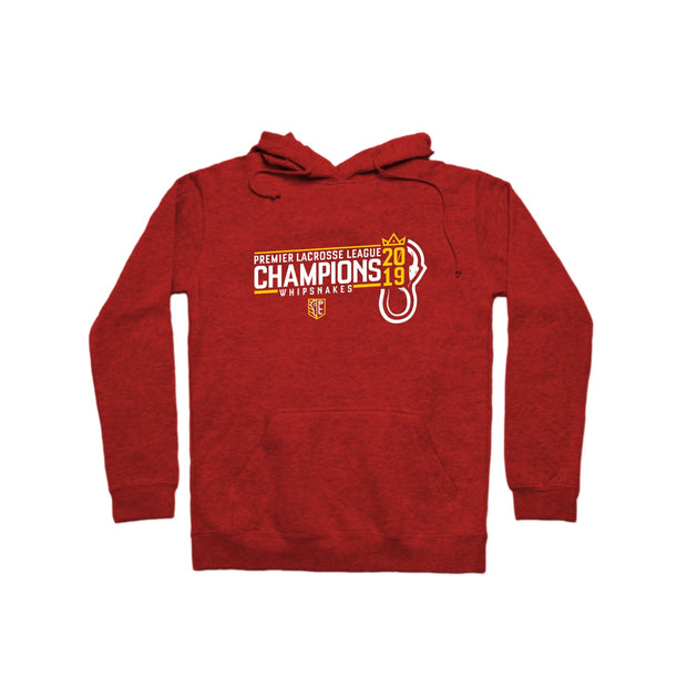 PLL 2019 Champions Whipsnakes Pullover Hoodie
