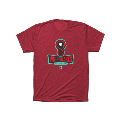 PLL Whipsnakes Lacrosse Club Triblend Tee - Men's