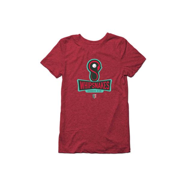 PLL Whipsnakes Lacrosse Club Triblend Tee - Women's
