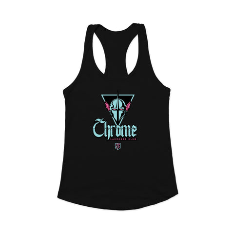 PLL Chrome Lacrosse Club Racerback Tank - Women's