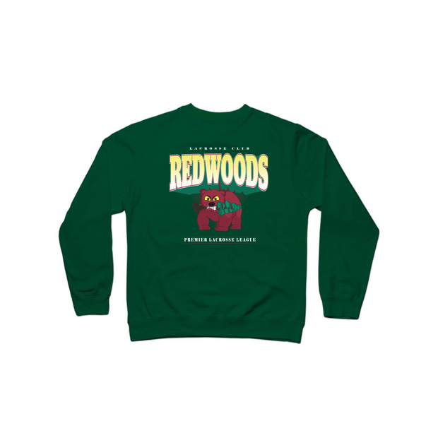 PLL Backyard Lacrosse Redwoods Crewneck Sweatshirt - Men's