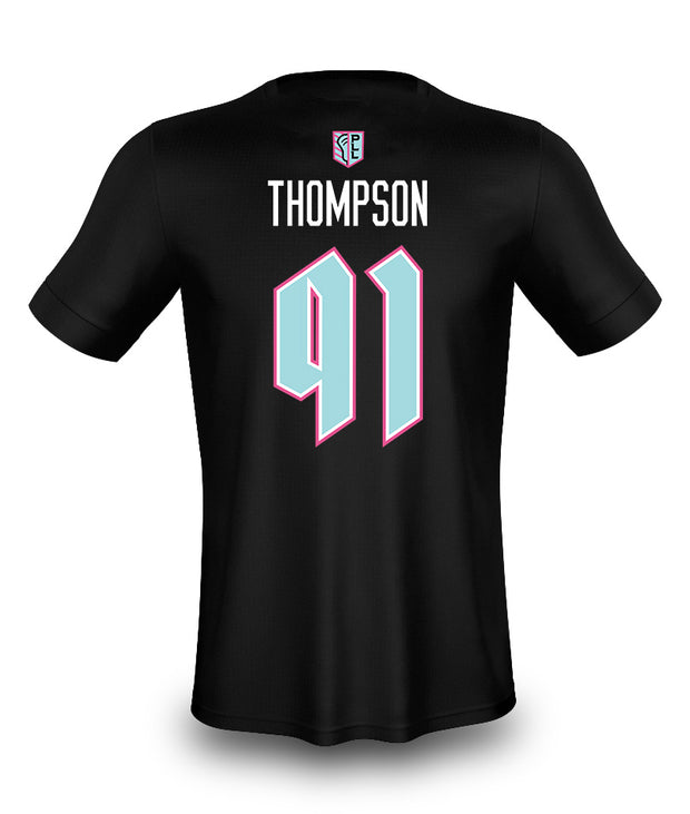 PLL Chrome Thompson #91 N&N Tee - Youth