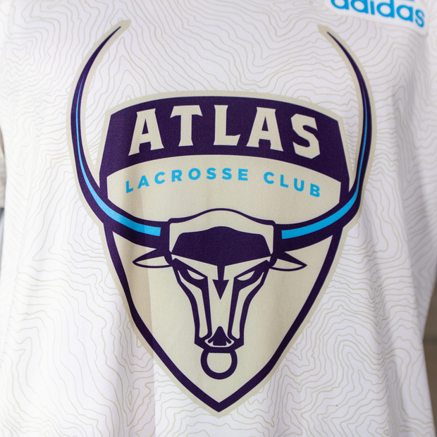 PLL Atlas Baptiste White Replica Jersey - Men's