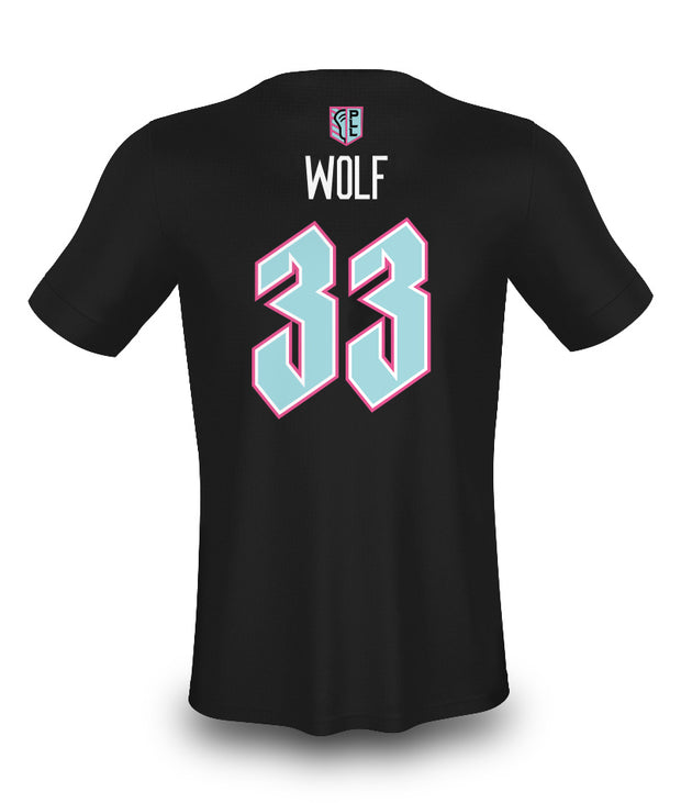 PLL Chrome Wolf #33 N+N Tee - Youth