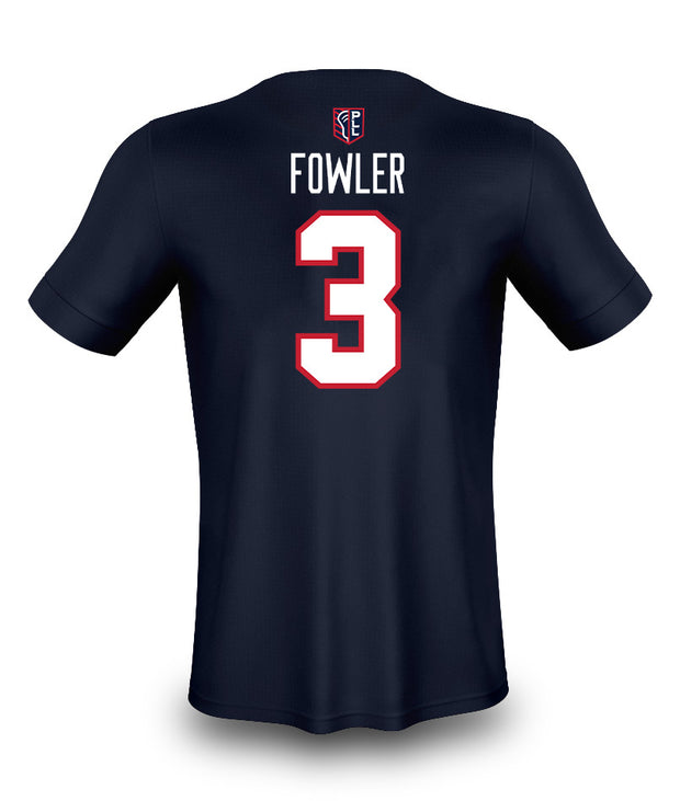 PLL Cannons Fowler #3 N+N Tee - Youth