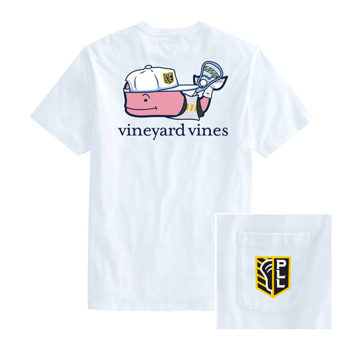 Vineyard Vines x PLL Whale Pocket Tee - Men's