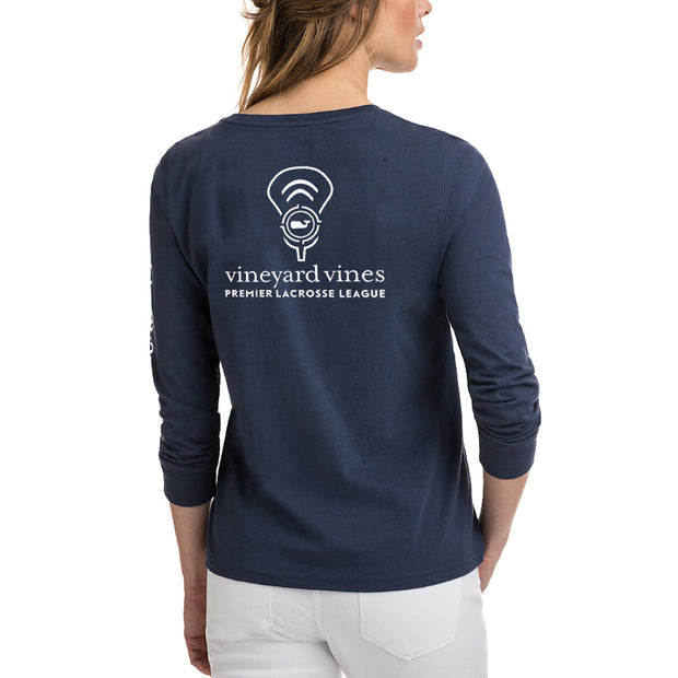 Vineyard Vines x PLL Target Practice Long Sleeve Tee - Women's