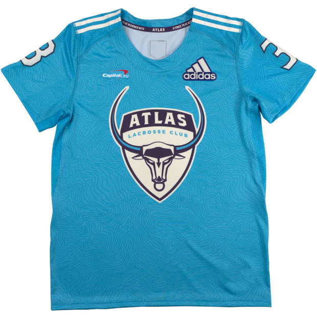 PLL Atlas Pannell Solar Blue Replica Jersey - Youth