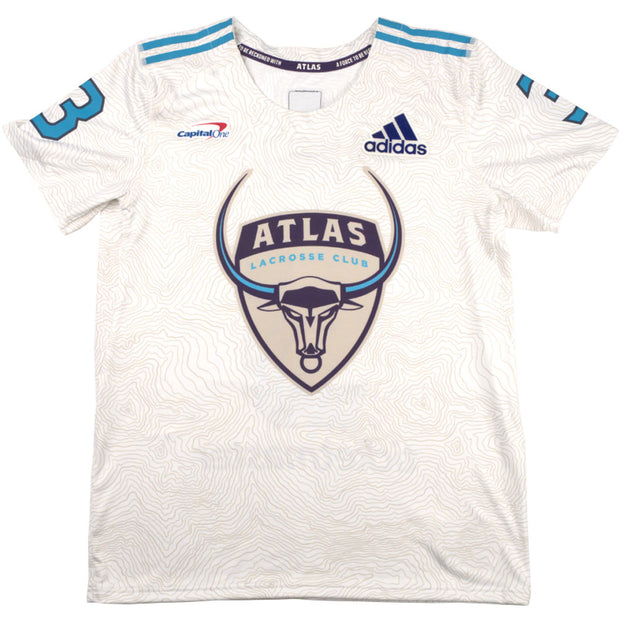 PLL Atlas Pannell White Replica Jersey - Men's