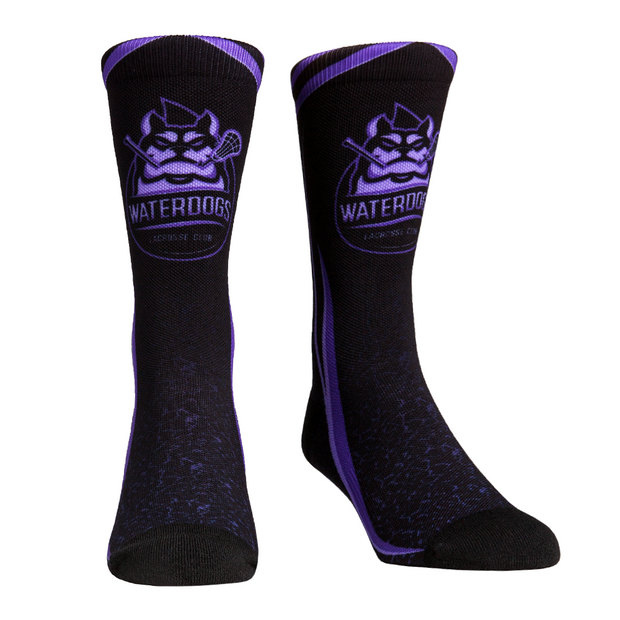 PLL Rockem Waterdogs Crew Socks