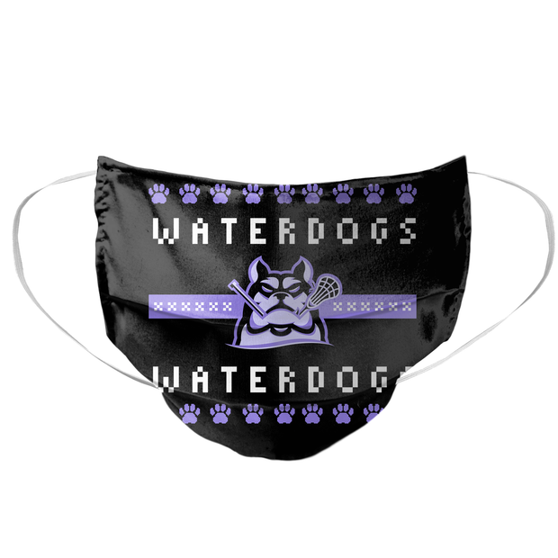 PLL Waterdogs Holiday 2020 Mask