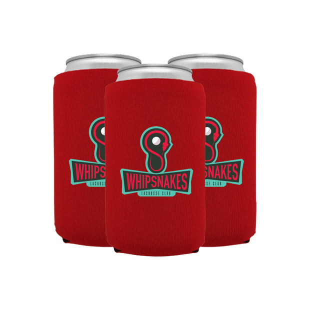 PLL Whipsnakes Can Cooler 3 Pack