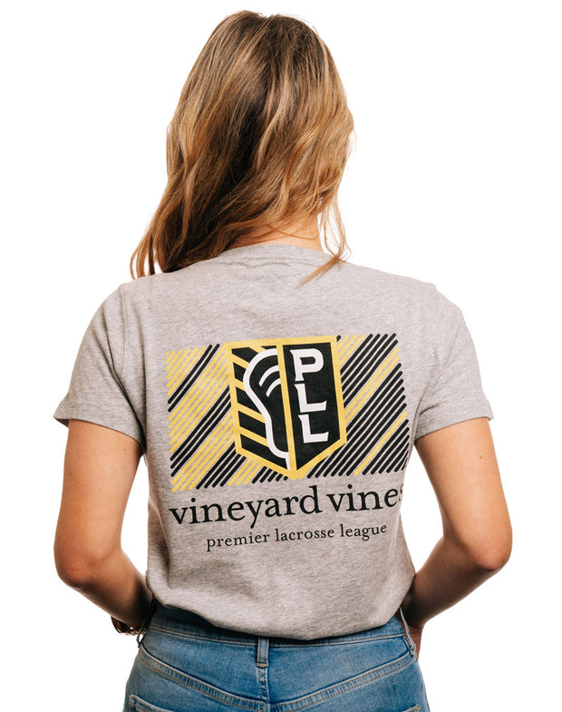 Vineyard Vines x PLL Bold Logo Pocket Tee - Women's