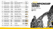PLL Championship Full Schedule - Free Download