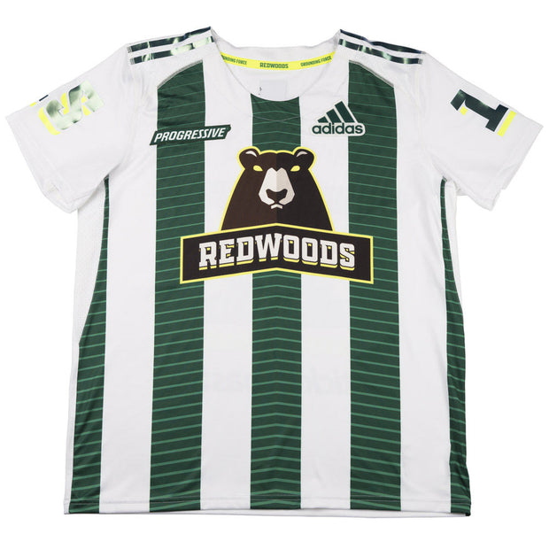 PLL Redwoods Jones White Replica Jersey - Men's