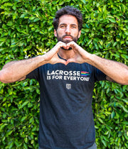 Lacrosse Is For Everyone Tee - Youth