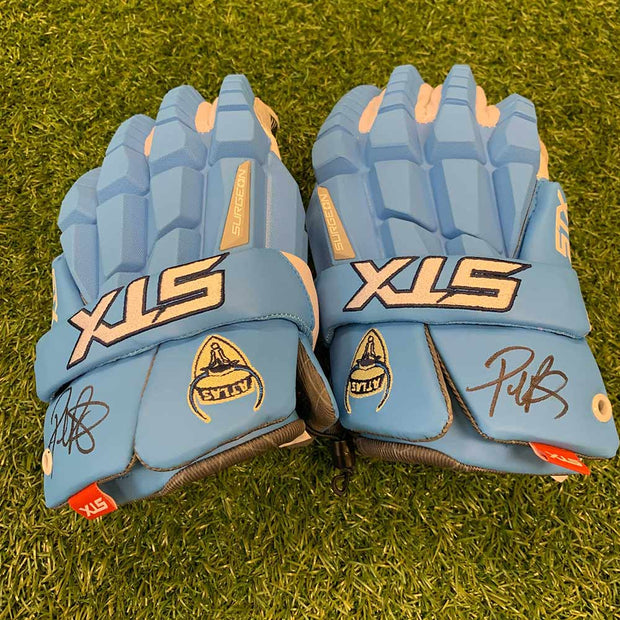 Paul Rabil Signed Gloves (STX) - Auction