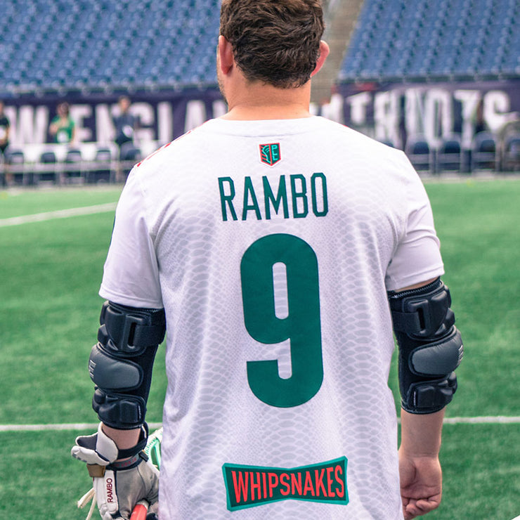 PLL Whipsnakes Rambo White Replica Jersey - Youth