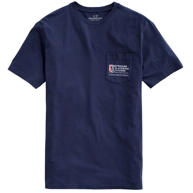 Vineyard Vines x PLL Stars and Stripes Pocket Tee - Men's