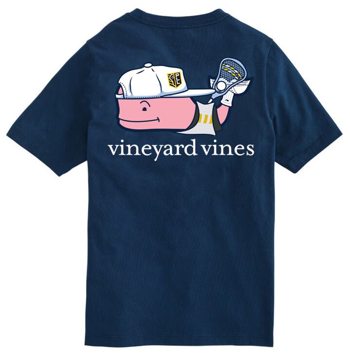 Vineyard Vines x PLL Whale Pocket Tee - Youth