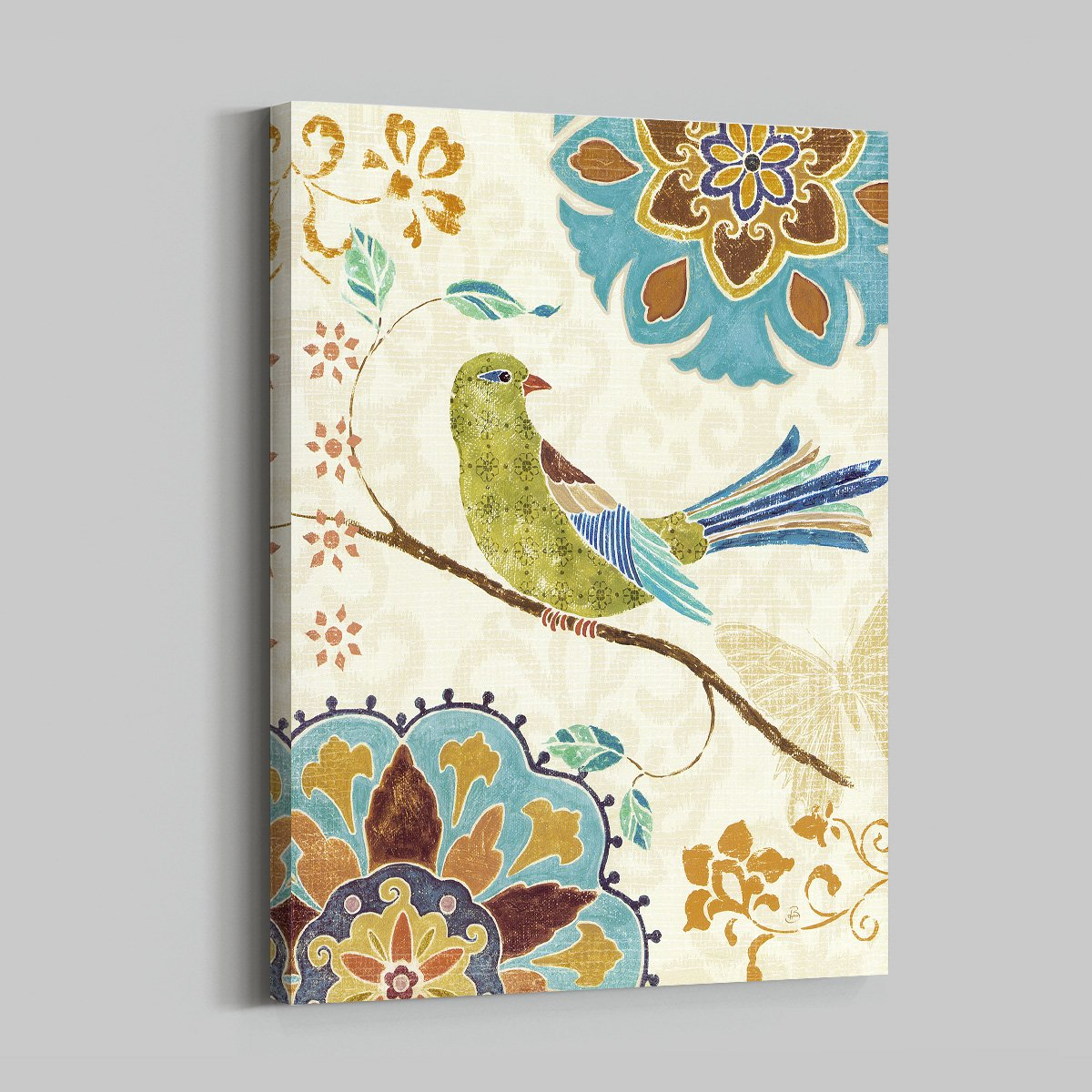Colorful Bird Animal decoration painting - living room double A