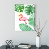 Pink flamingo bird decorative painting 001