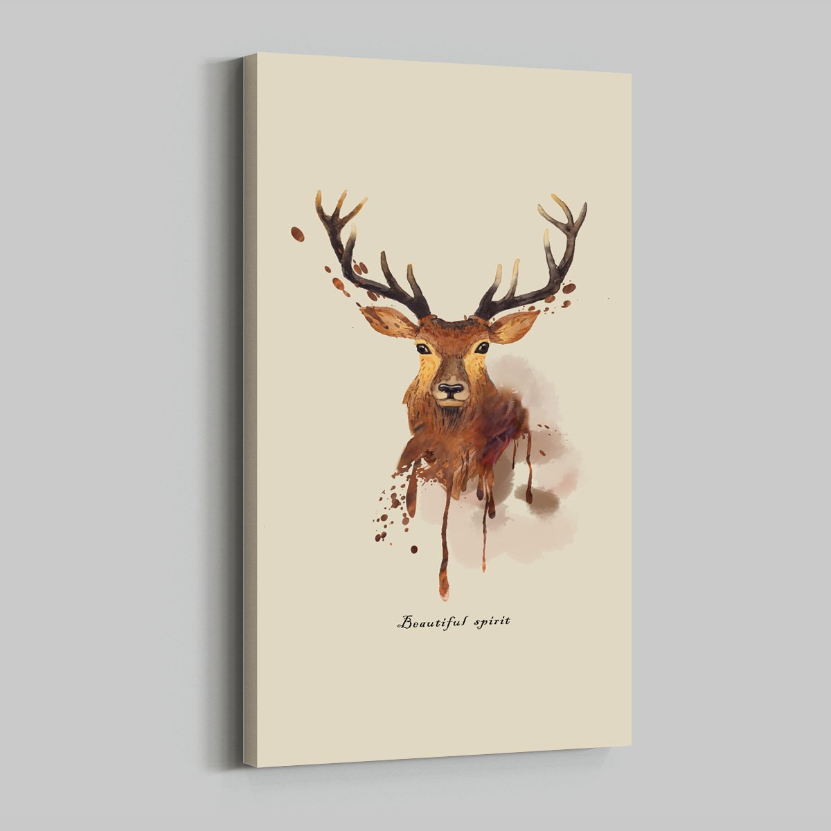 American elk hanging picture - animal decoration picture for living room