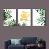 Beautiful leaves plant  Multi Panel Wall Art 001