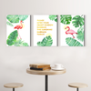 Beautiful flamingo animal  Multi Panel Wall 001