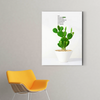 Cute little  plant decorative painting 002