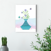 Beautiful flower plant decoration painting 005