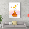 Beautiful flower plant decorative painting 007