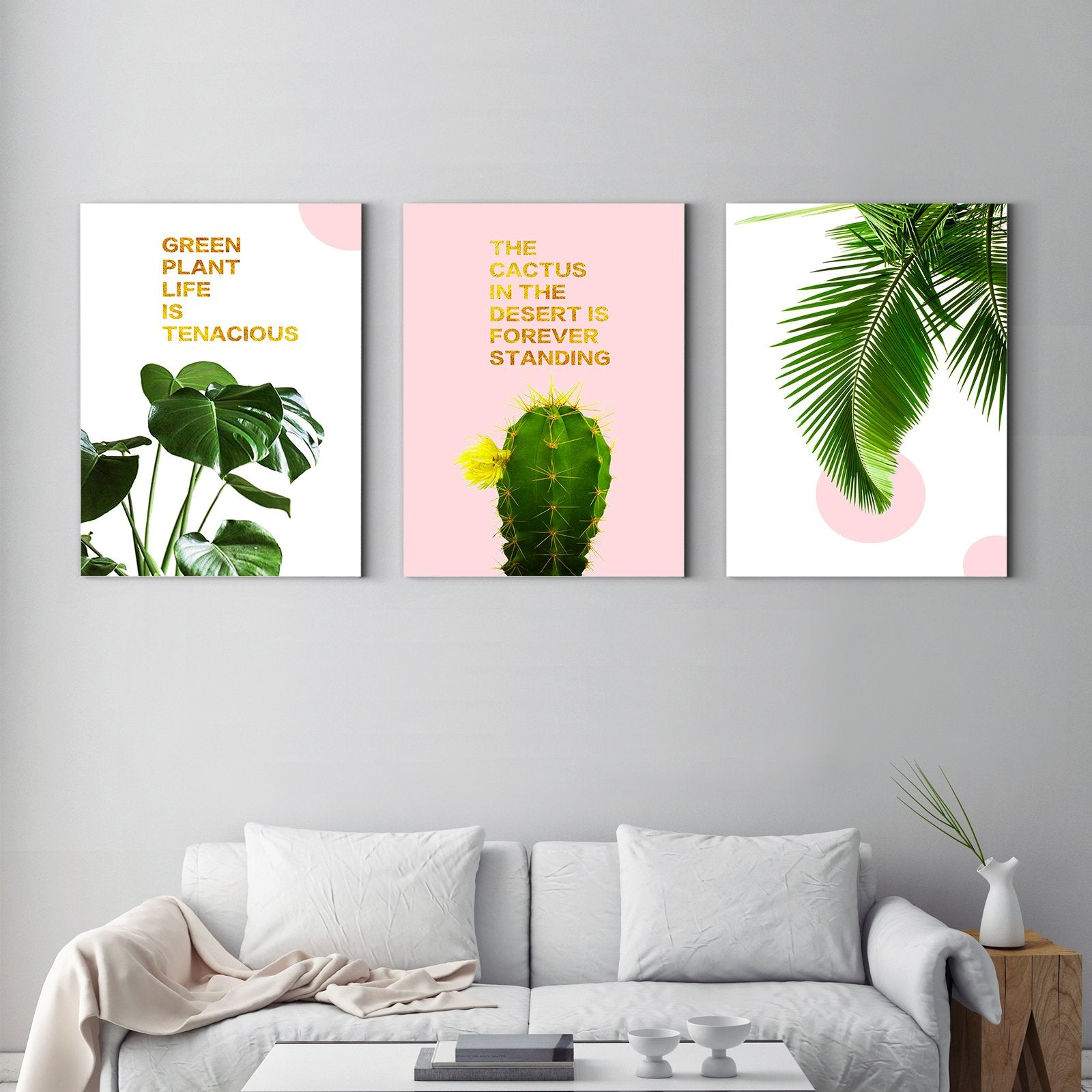 Keep standing plants - plant decorative painting - living room-Multi Panel Wall Art037