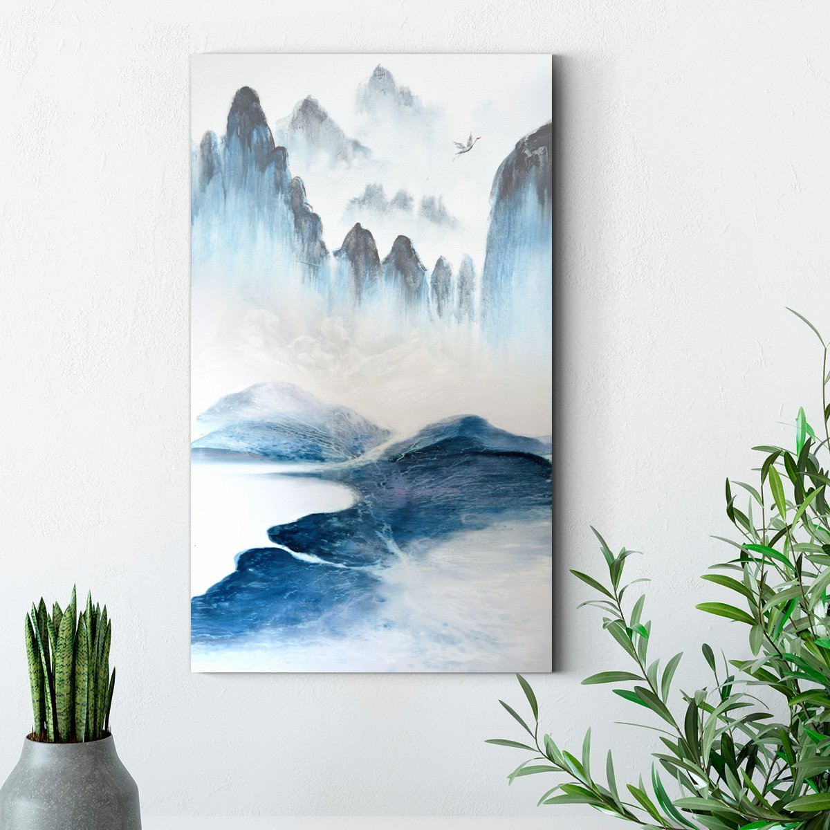 Landscape painting - abstract decorative painting - living room