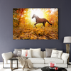 Strong horse animal decorative painting 001