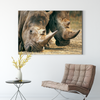 Strong rhinoceros animal decorative painting 045
