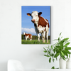 Cute cow animal decoration painting 041